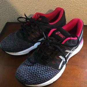 ASICS Gel-exalt pink & black Athletic Shoes Sz 7.5